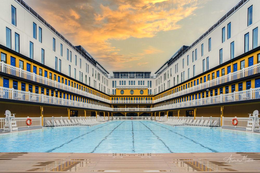 photo hotel piscine Molitor
