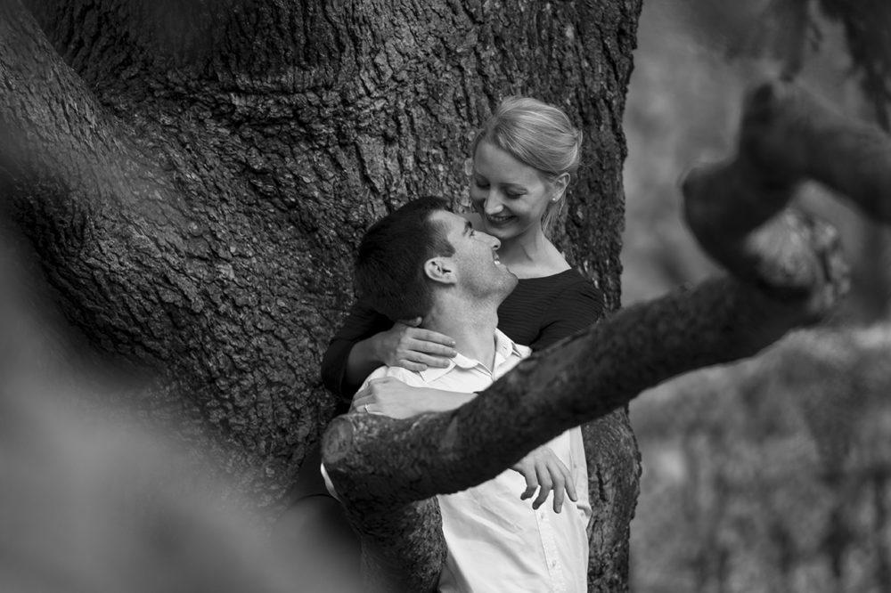 photo de couple professionnel noir et blanc