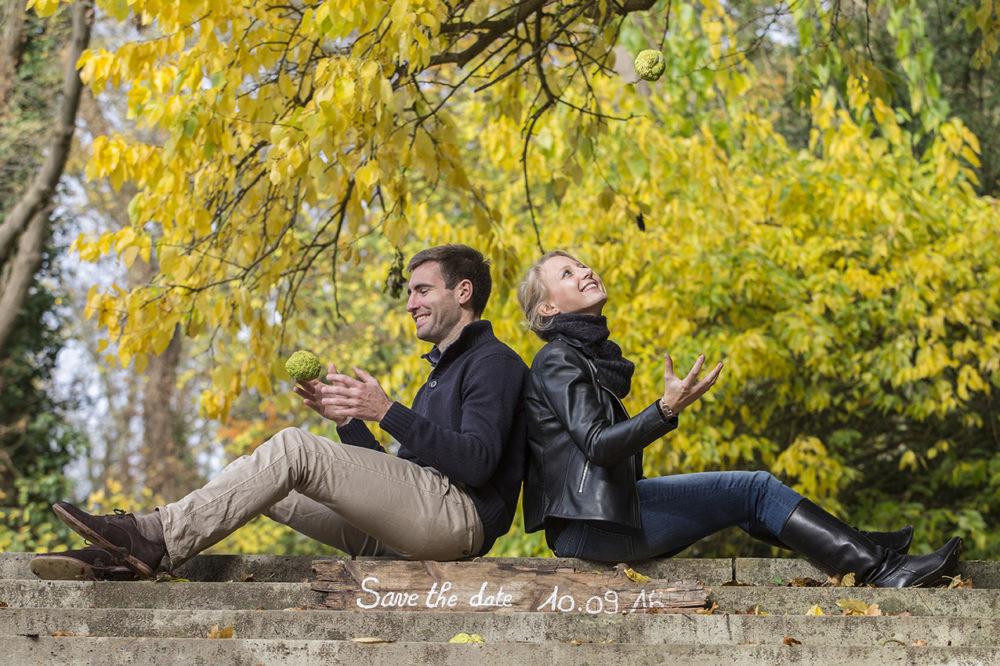 photo de couple engagement