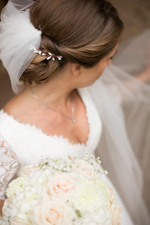 photo de la mariée à Janzé