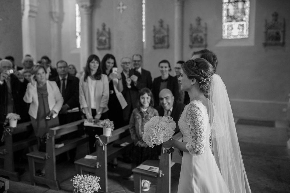 mariage à l'Eglise de Chazay d'azergues