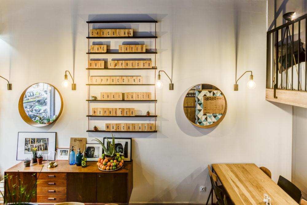 détail décoration restaurant OSLOW