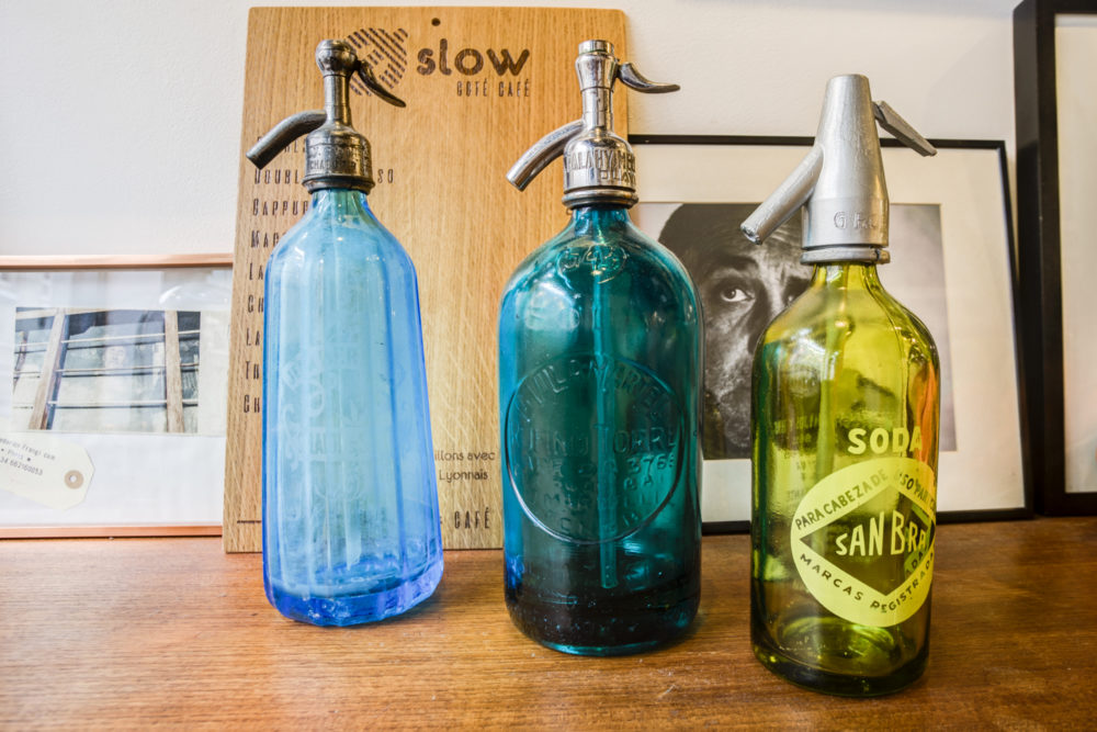collection de Siphon eau de Seltz