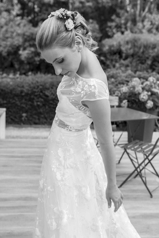 photo de mariée domaine d bellegarde