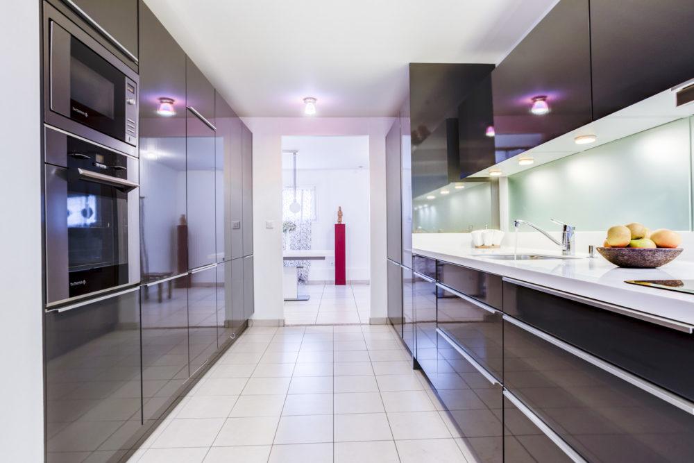 cuisine design loft villeurbanne
