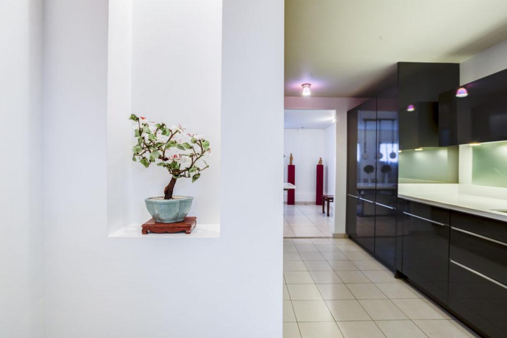photo immobilier photo de cuisine design loft villeurbanne