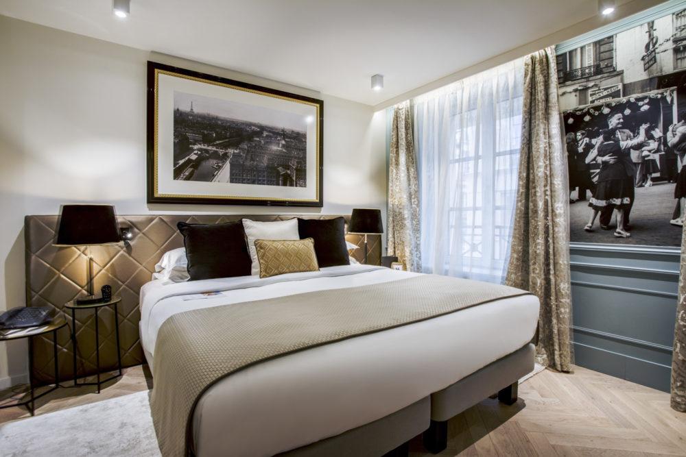 Chambre double supérieure hôtel royal saint honoré