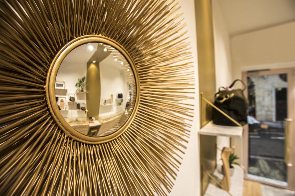 Décoration magasin UNE A UNE Lyon 2