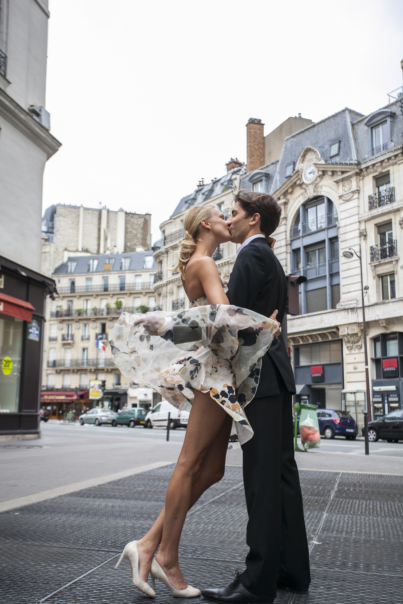 Photo elopement in paris rive gauche