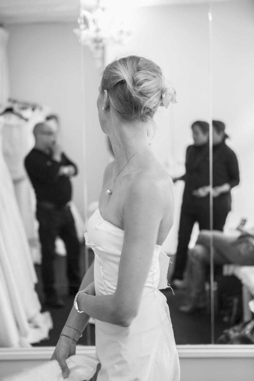 Essayage robe de mariée Reinaldo Alvarez
