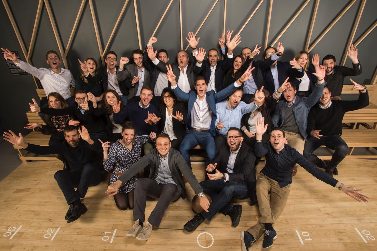 photographie entreprise teambuilding