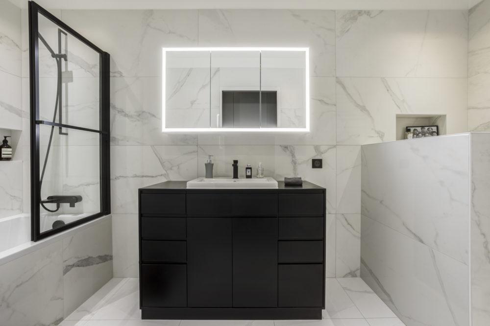 salle de bain appartement Lyon 6