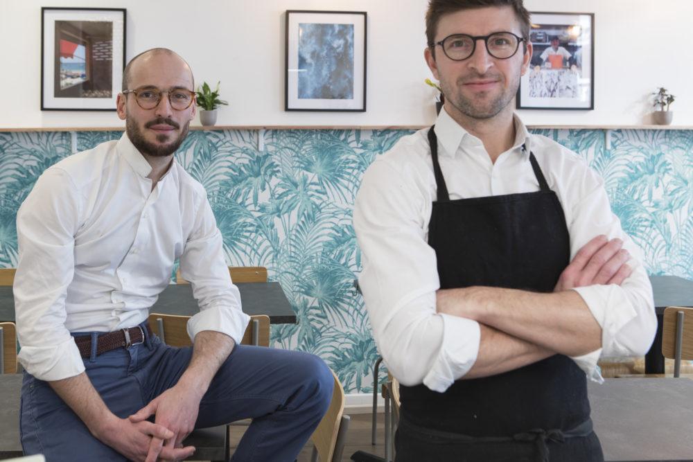 portraits d'équipe du restaurant Skip Jack