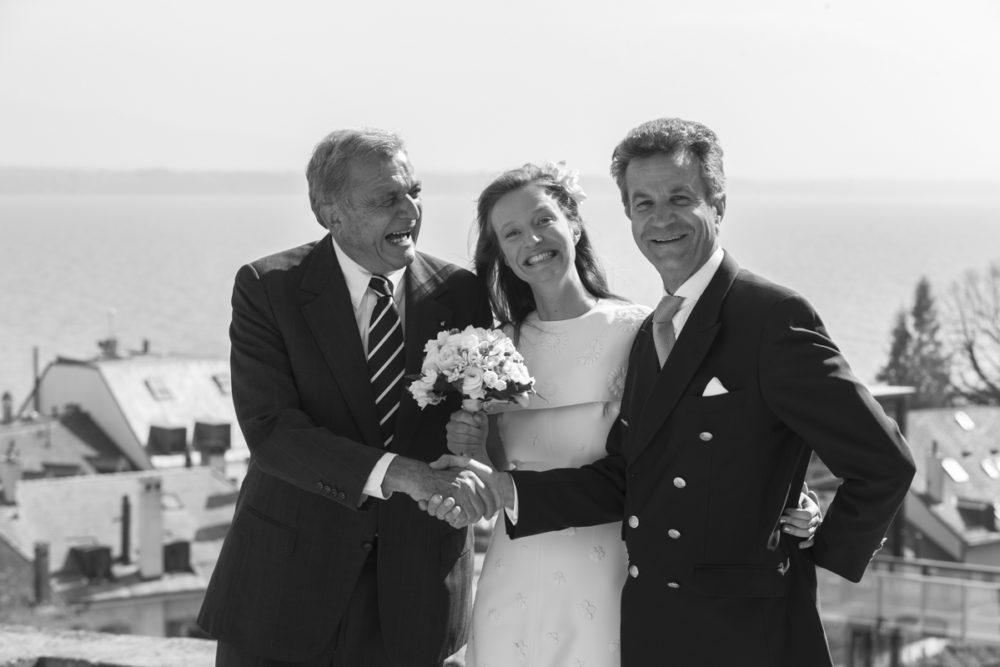 mariée à Nyon Suisse