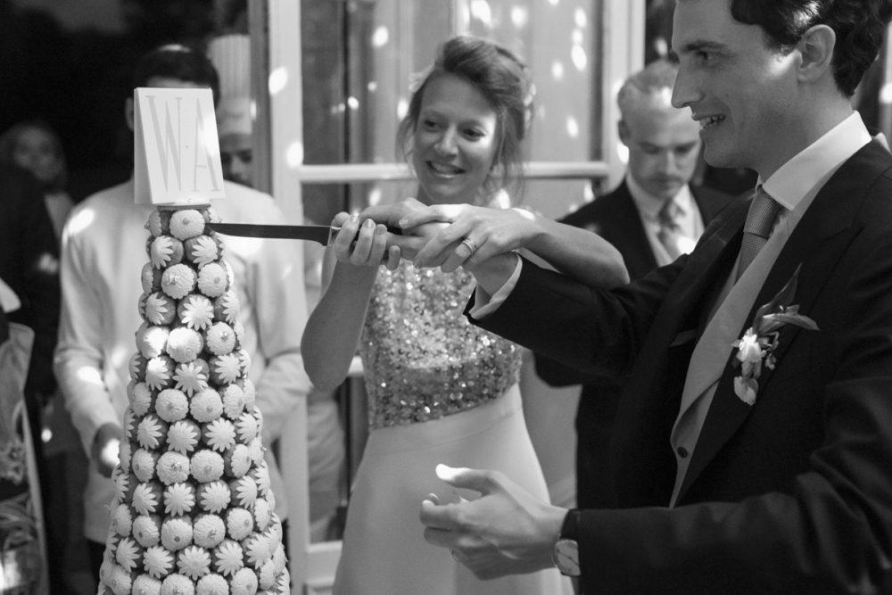 wedding cake par Lenôtre