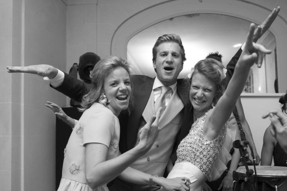 la mariée sur le dance floor