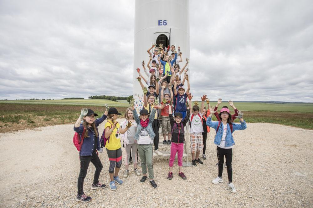 photo du parc éolien