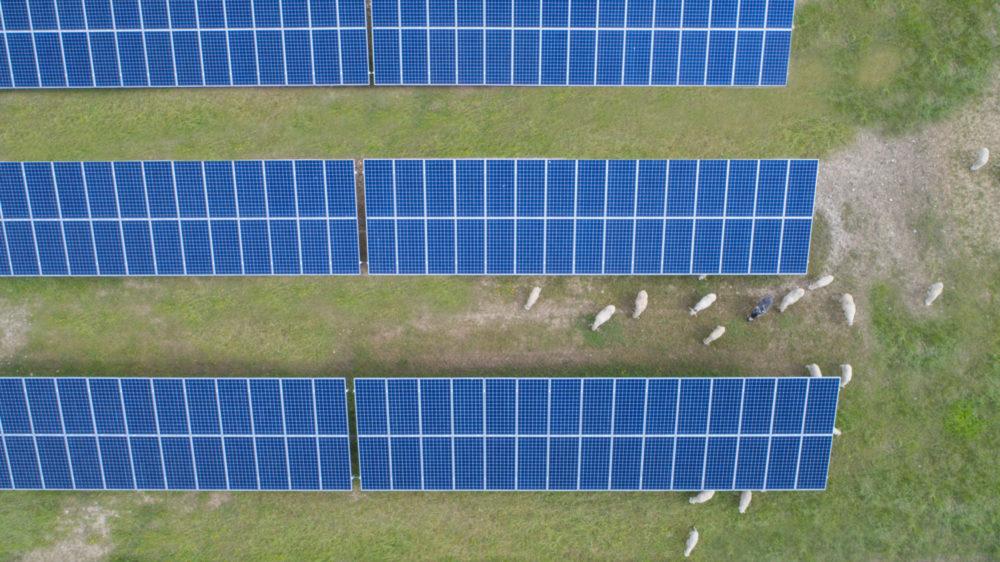 parc photovoltaïque CNR de Villebois