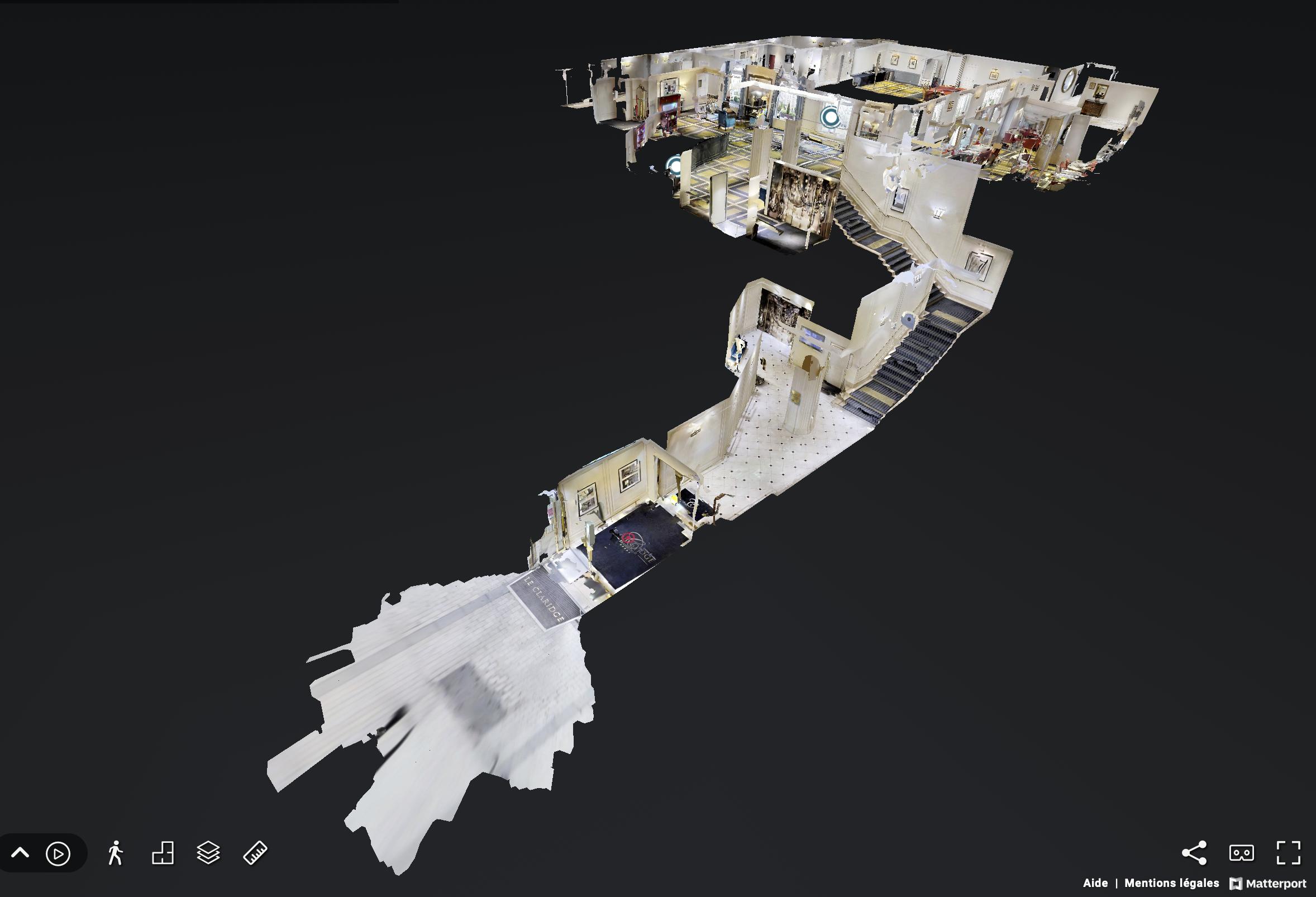 Scan 360° Matterport