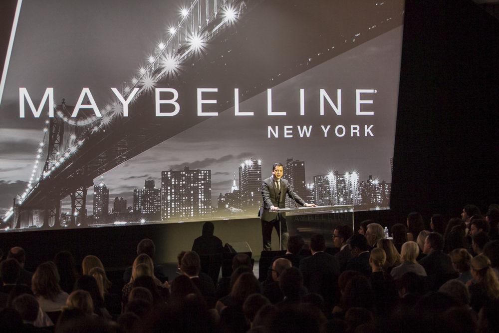 plénière Maybeline New-York 2016